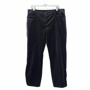Eileen Fisher Straight Leg Velvet Pants #144